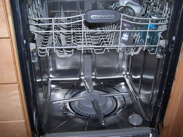 Dishwasher disassembly